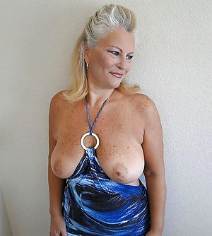 Busty natural old mature pics