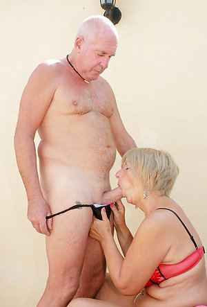 Handsome old mature tits pics