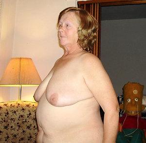 Handsome granny big tits