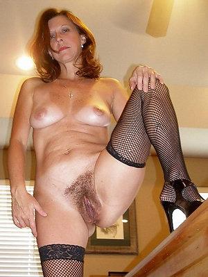 Beautiful natural hairy mature porn