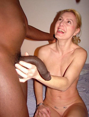 Pretty mature amateur interracial