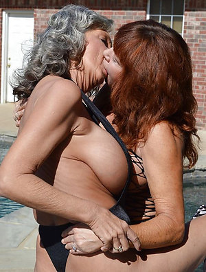 Real sexy pics of old ladies lesbians