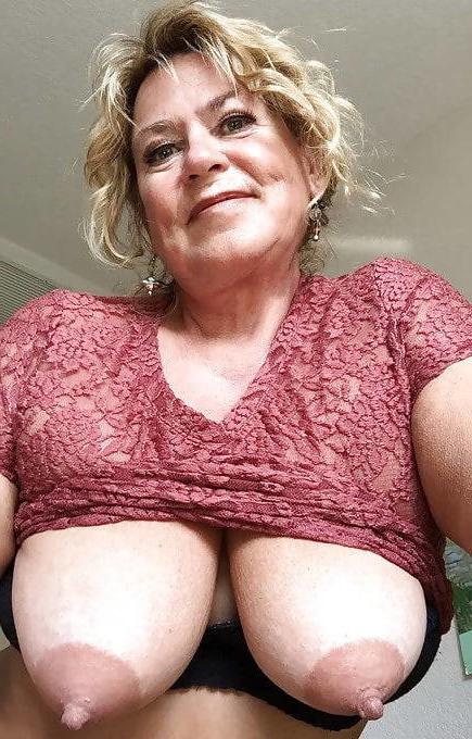 Real mature big tits