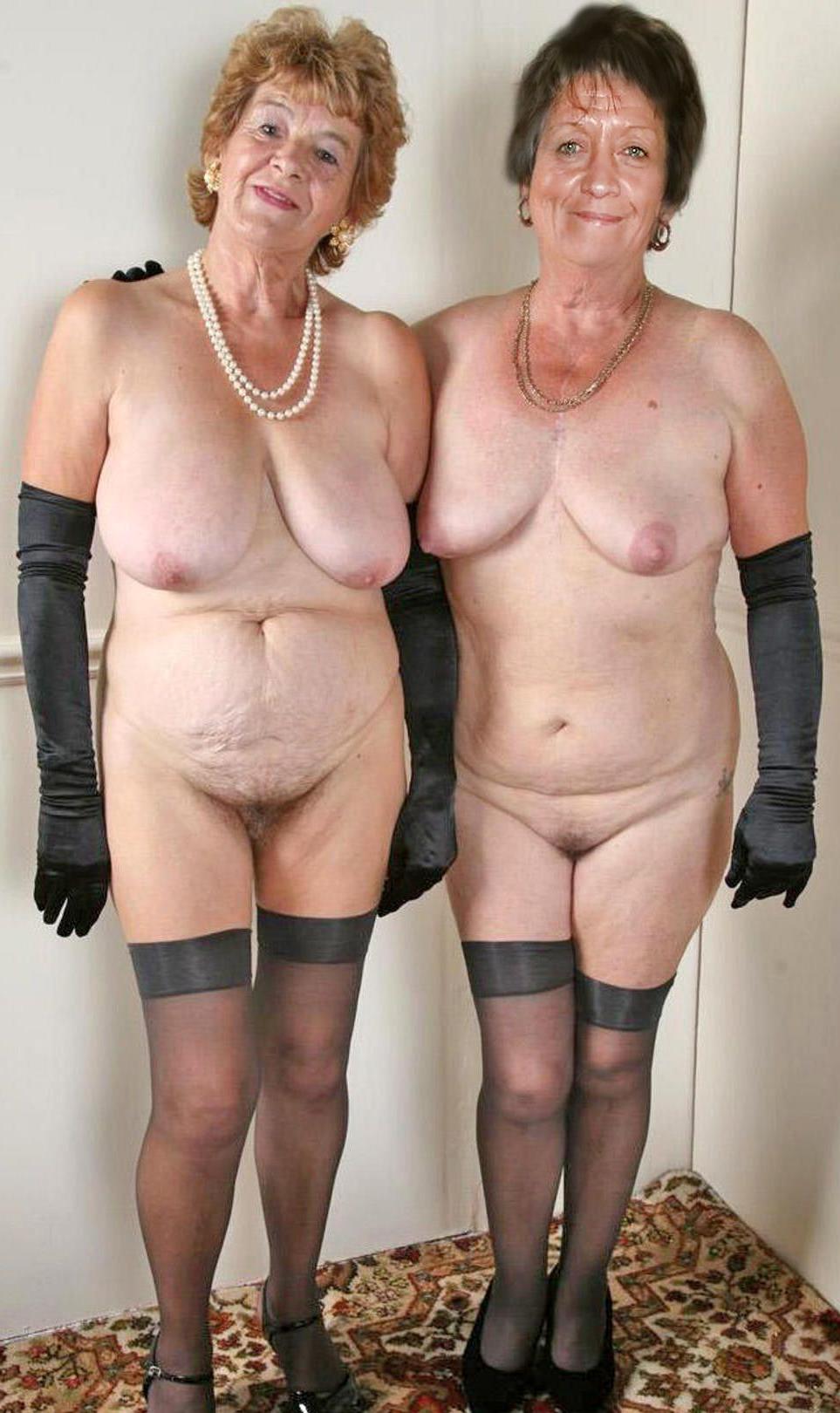 Ladies naked mature Old Women