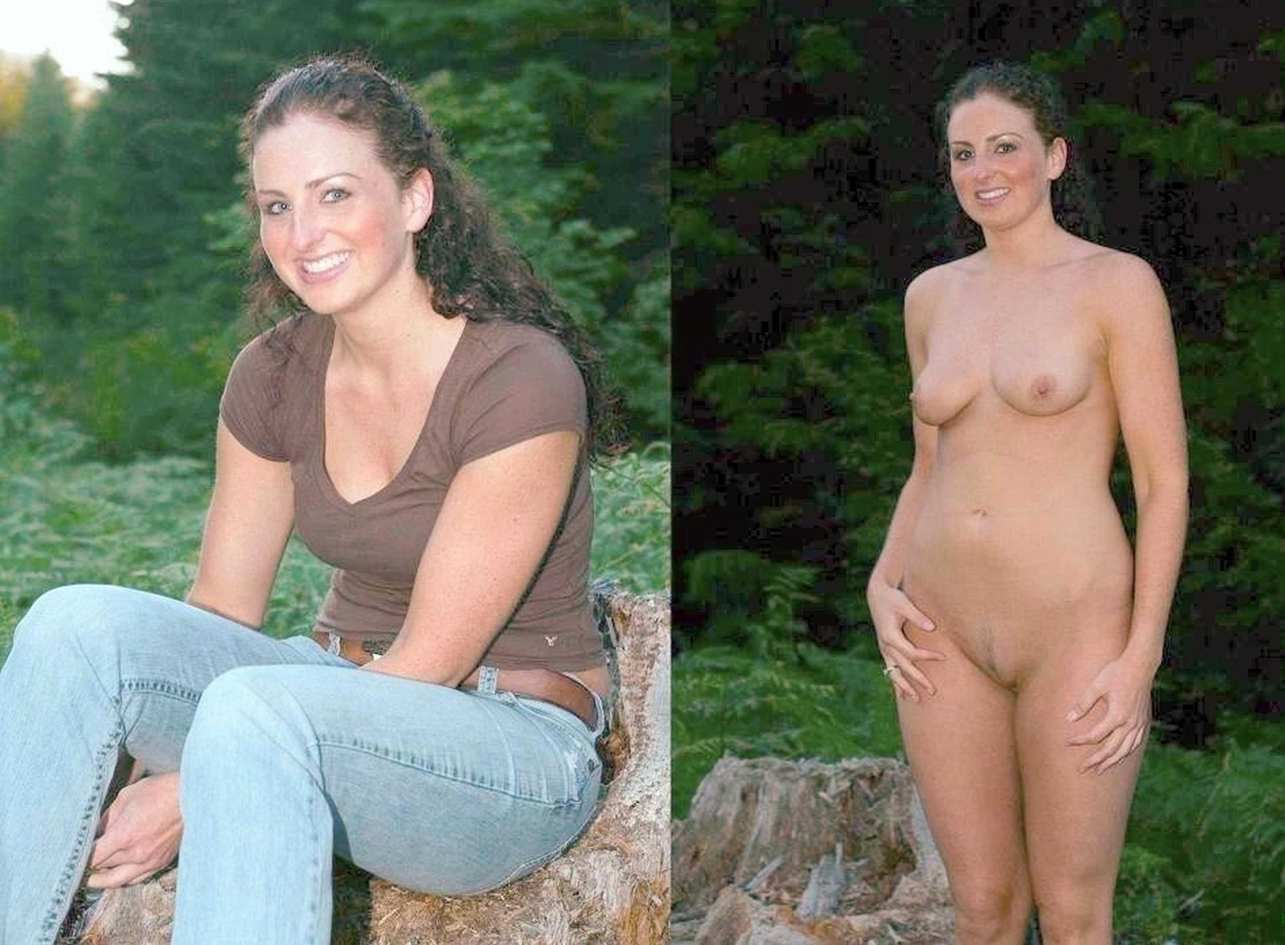Dressed undressed amateur