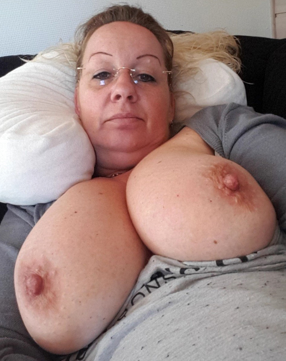 Nipple nude big Amanda Holden