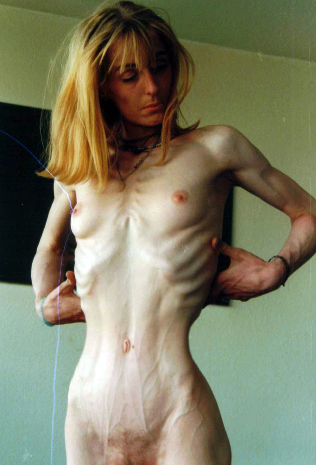 Mature skinny naked