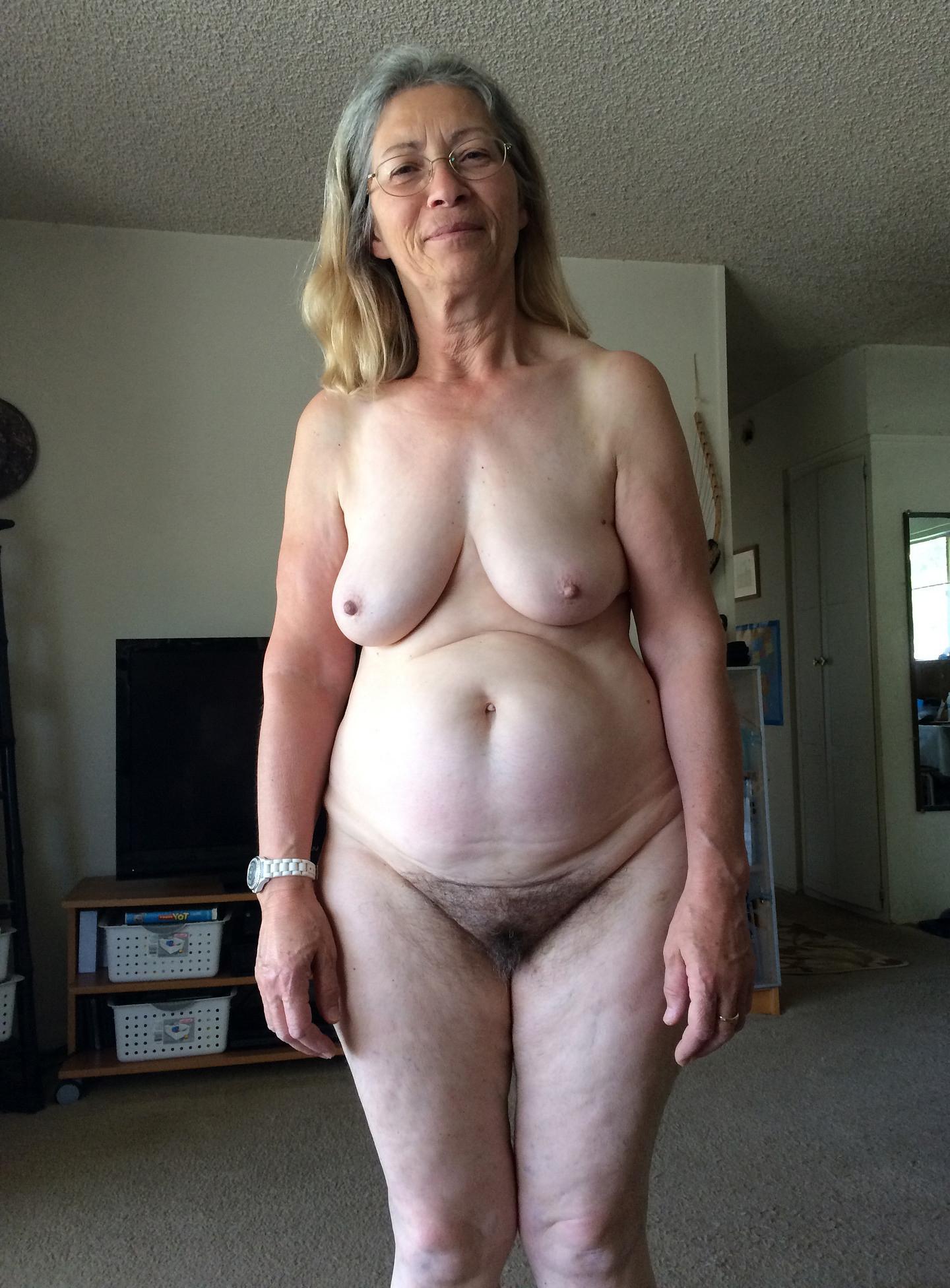 Tits saggy granny Big Saggy